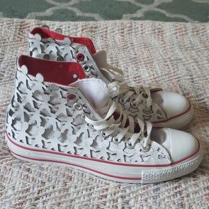 CONVERSE Paper Doll Sneakers Mens 7 Womens 9